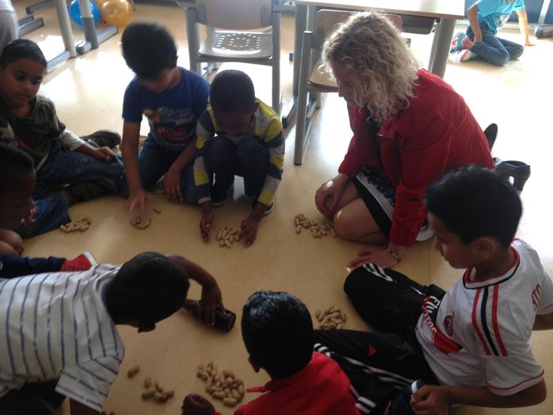 drai batra spelen in de klas